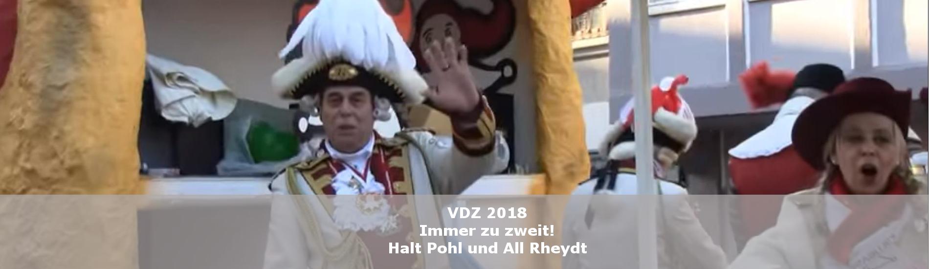 Teaser VDZ 2018
